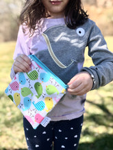 Reusable Snack Bags - Bird print