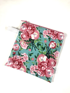 Floral Print | Wet Bag | Reusable Bag