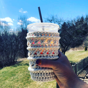 Crosstown Cozy | Reusable Drink Cozy
