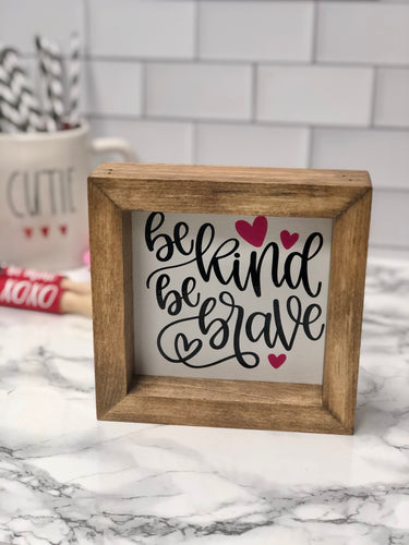 Be Kind Wood Sign | Wooden Sign | Rustic Sign | Farmhouse Decor