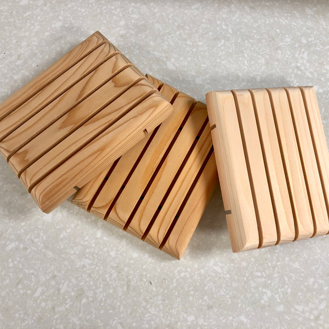 Cedar Soap Deck- All Natural and Eco Friendly!!