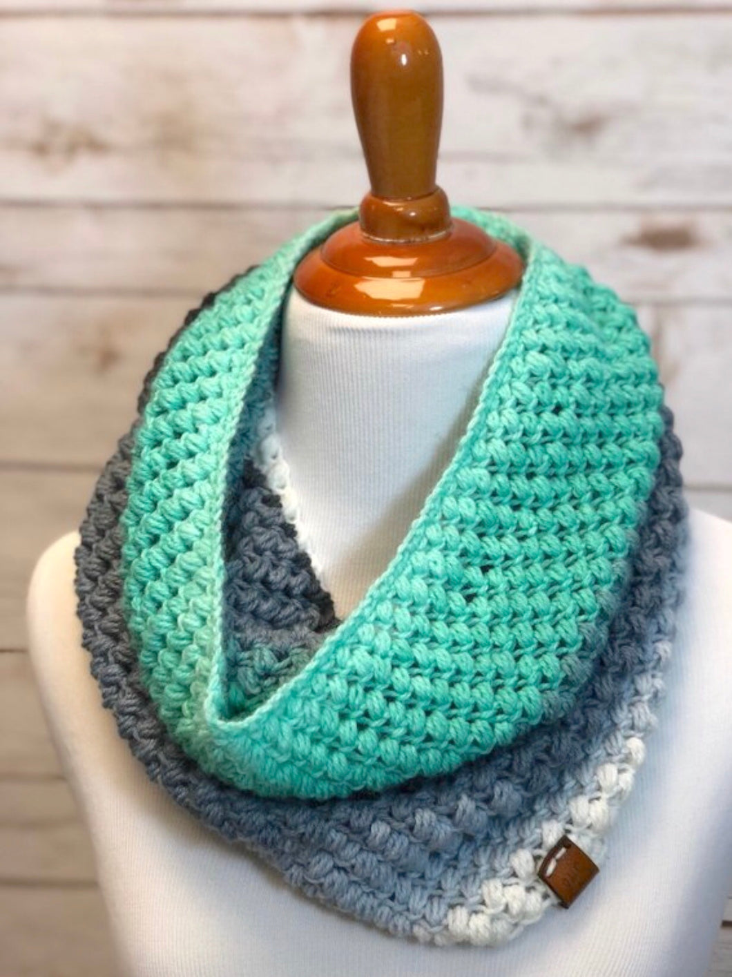 RTS Spring Bean Cowl | Infinity Scarf