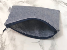 Reusable Snack Bags - Blue Denim Print