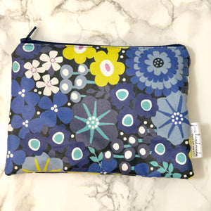 Reusable Snack Bags - Blue Floral