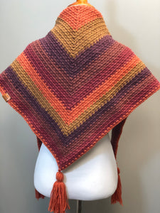 RTS  TRIANGLE SCARF | autumn love