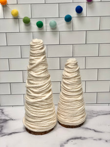 RTS | Rustic Yarn Trees | Set of 2