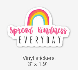 RTS | Spread Kindness Everyday Sticker