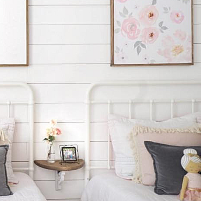 A Simple and Affordable Faux Shiplap DIY
