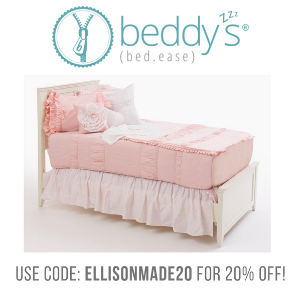 Beddy's Zipper Bedding Coupon
