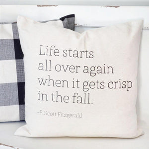 Fitzgerald Fall Pillow Cover
