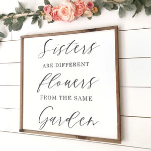 Sisters Quote Sign