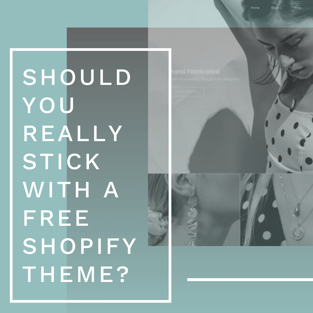 shopify free theme blog post