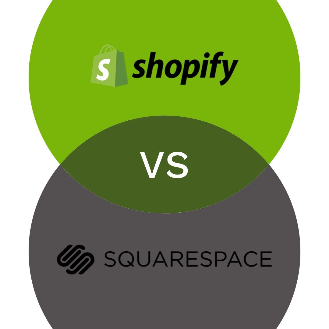 Shopify vs Squarespace Featured Image