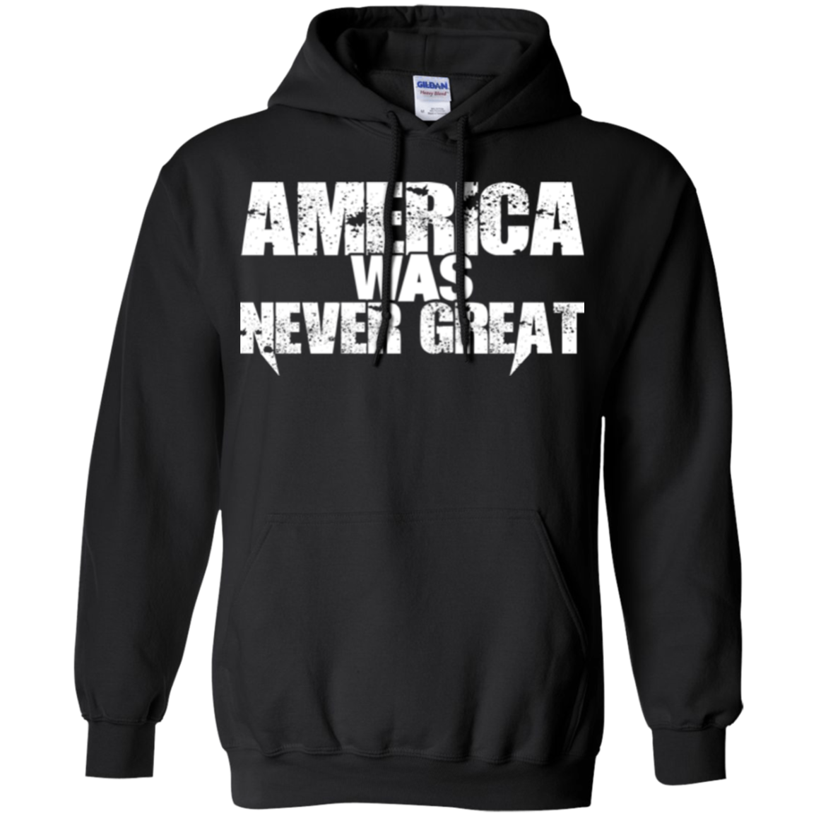 America T shirts Anti Trump America Was Never Great Hoodies Sweatshirts TH