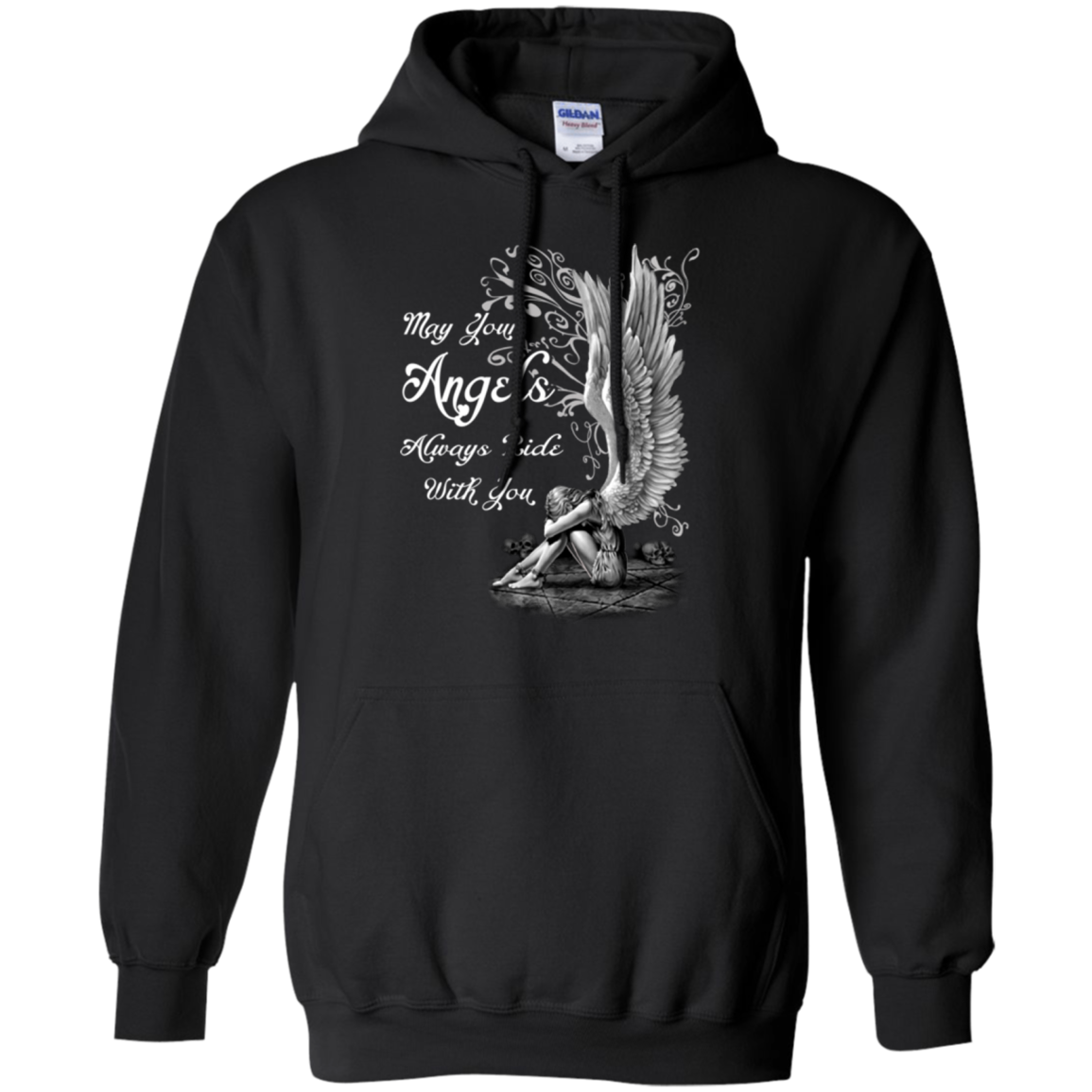 Angel T shirts Your Angels Always Ride With You Hoodies Sweatshirts TH