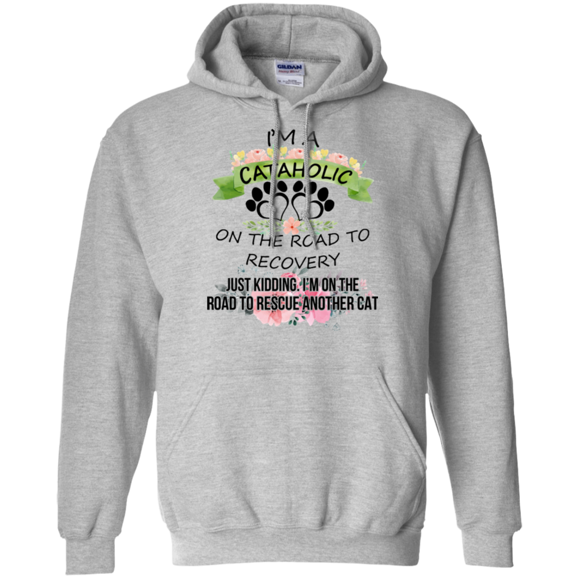 Cat T shirts Cataholic Rescue Another Cat Hoodies Sweatshirts TH