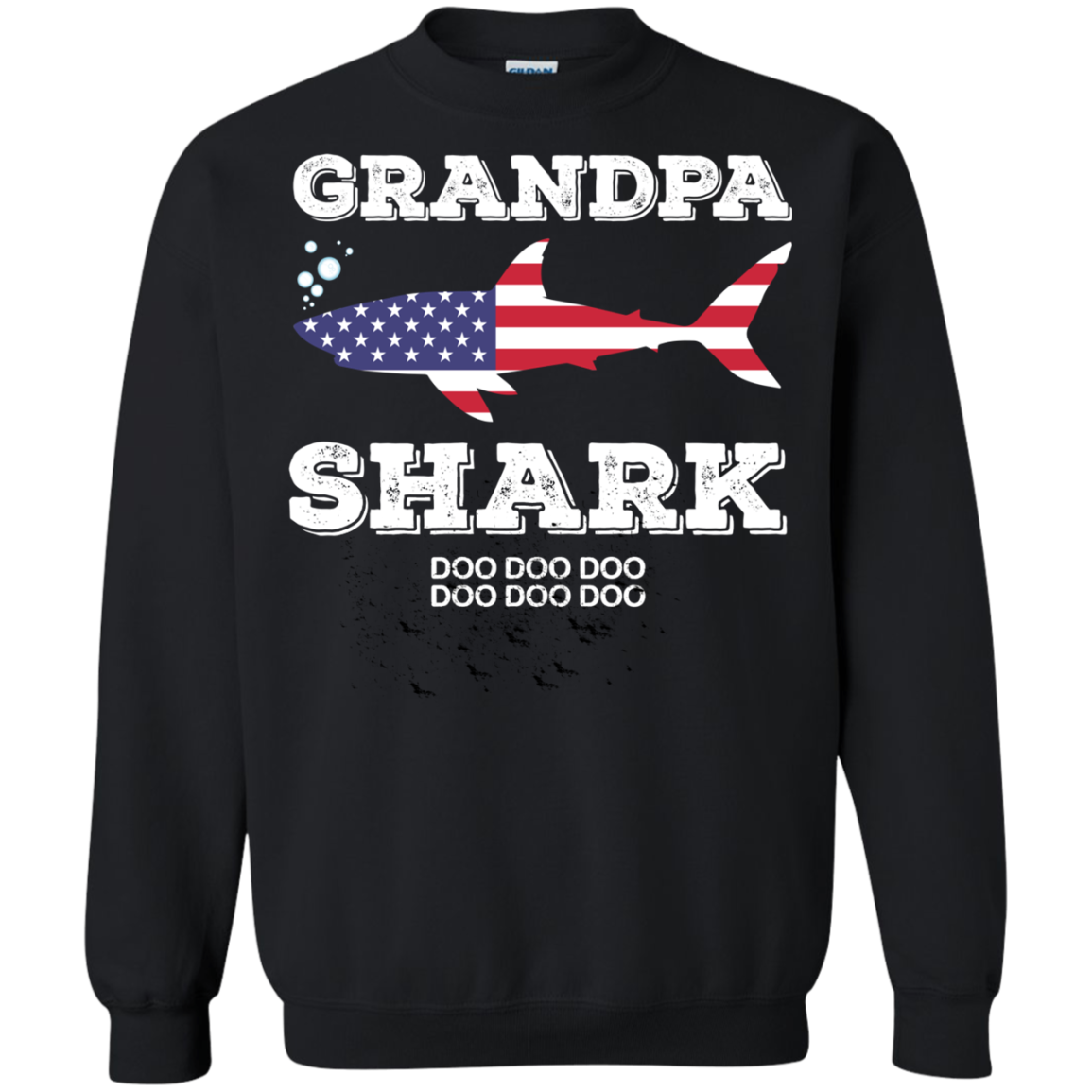 Baby Shark T shirts Grandma Shark America Hoodies Sweatshirts TH