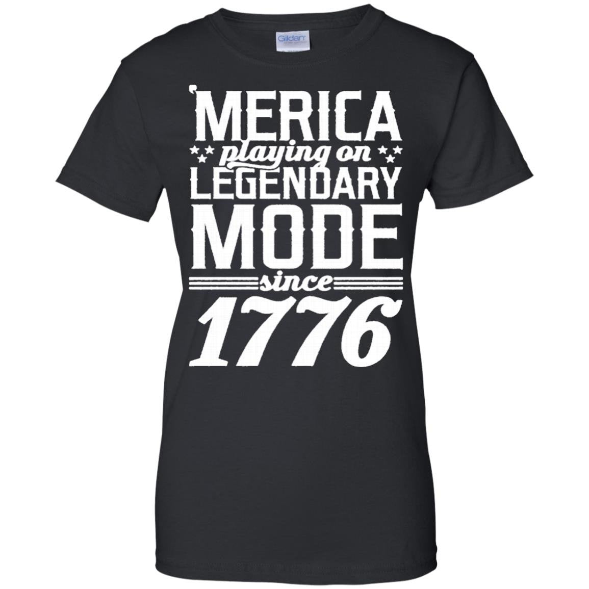 America Shirts MERICA PLAYING ON LEGENDARY MODE SINCE 1776 T-shirts Hoodies Sweatshirts