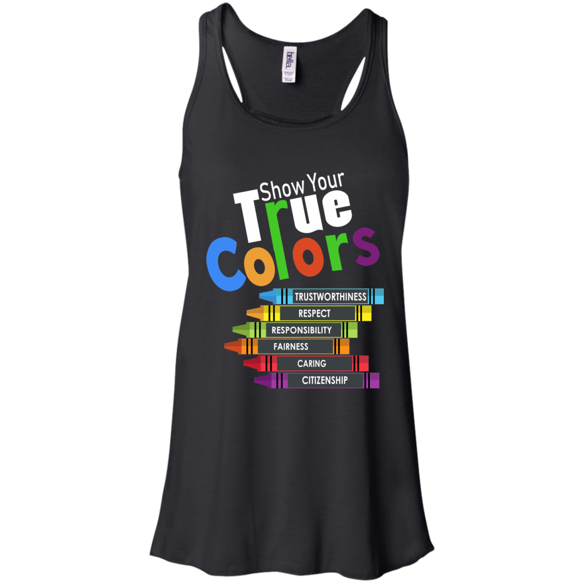 Colors T shirts Show Your True Color Hoodies Sweatshirts TH