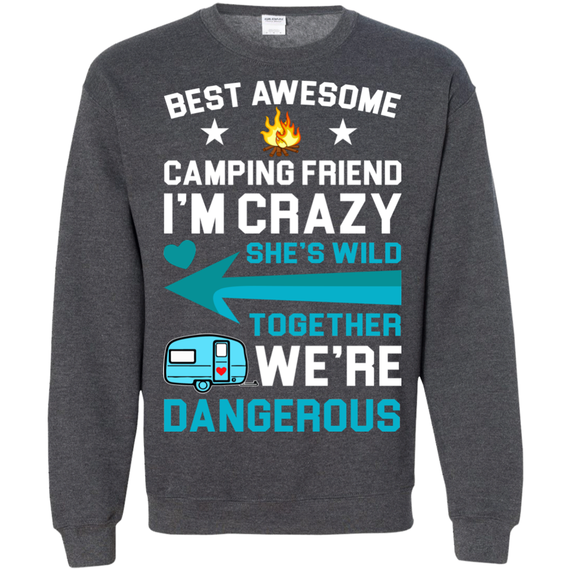 Camping T shirts Best Awesome Camping Friend Hoodies Sweatshirts TH