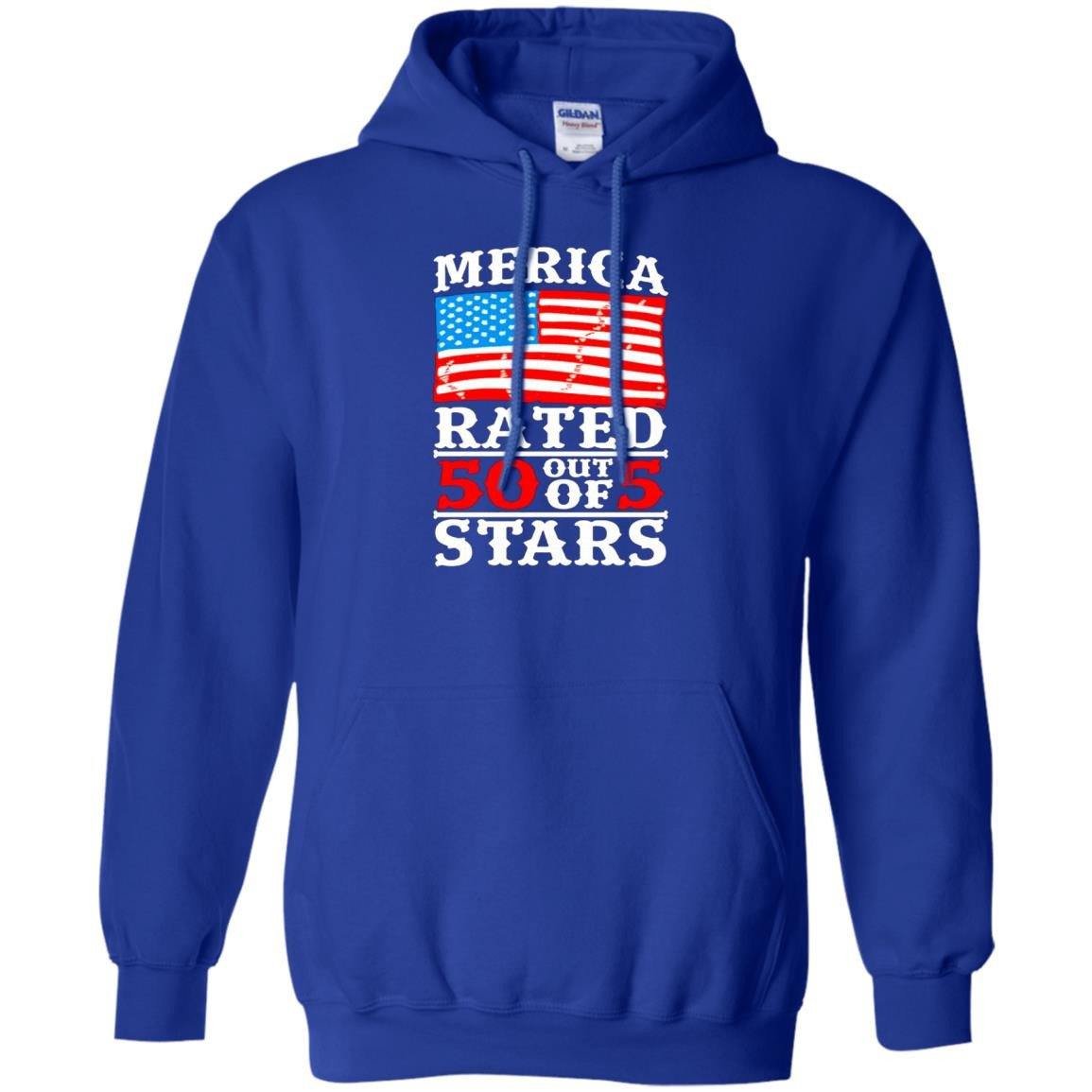 America Shirts MERICA  RATED 50 OUT OF 5 STARS T-shirts Hoodies Sweatshirts
