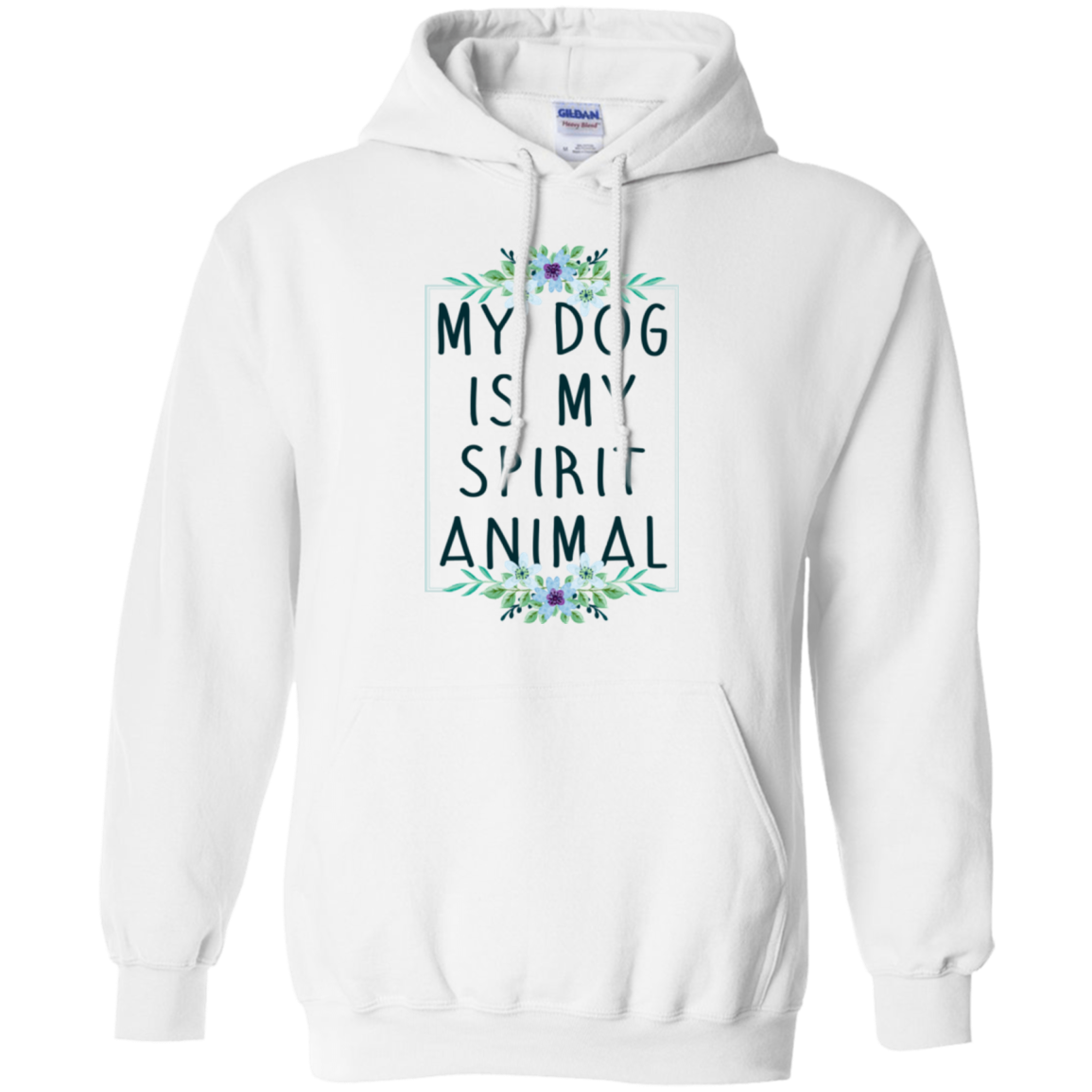 Animal T shirts My Dog Is My Spirit Animal Hoodies Sweatshirts TH