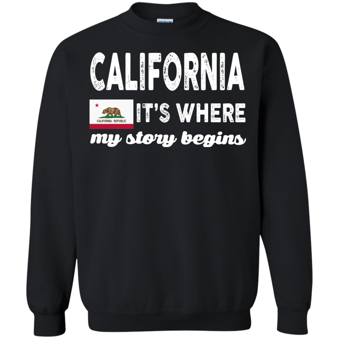 California T shirts It's Where My Story Begins Hoodies Sweatshirts TH