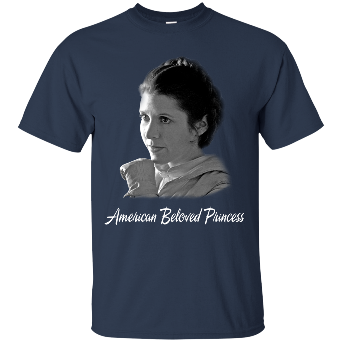 Carrie Fisher Princess Leia Star Wars T shrits Hoodies - Blue Fox