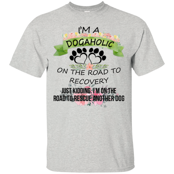 Dog T shirts Dogaholic Rescue Another Dog Hoodies Sweatshirts TH