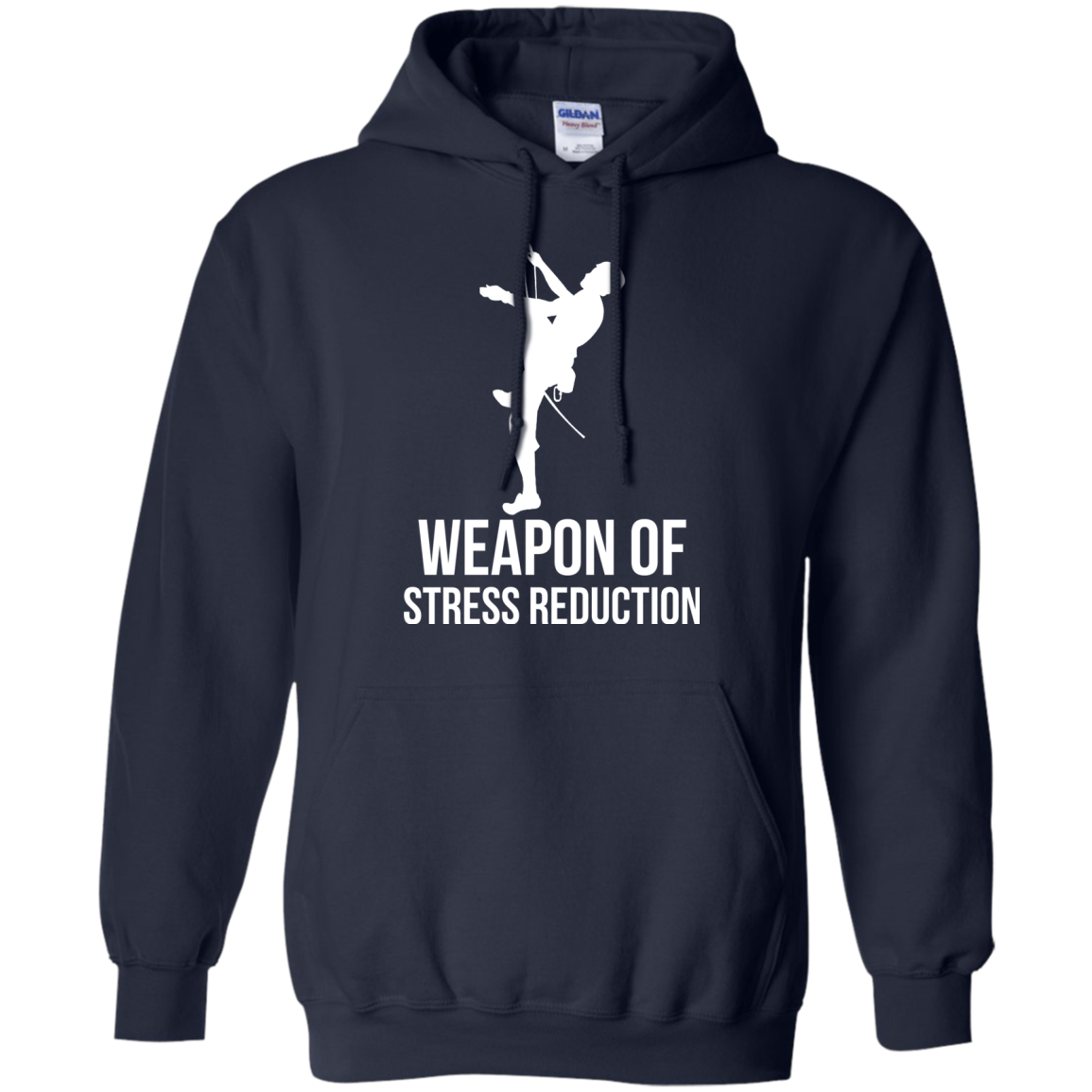 Climbing T shirts Weapon Of Stress Reduction Hoodies Sweatshirts TH