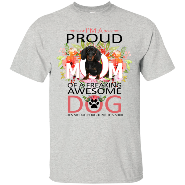 Dachshund Mother s Day T shirts A Proud Mom Of Hoodies Sweatshirts TH
