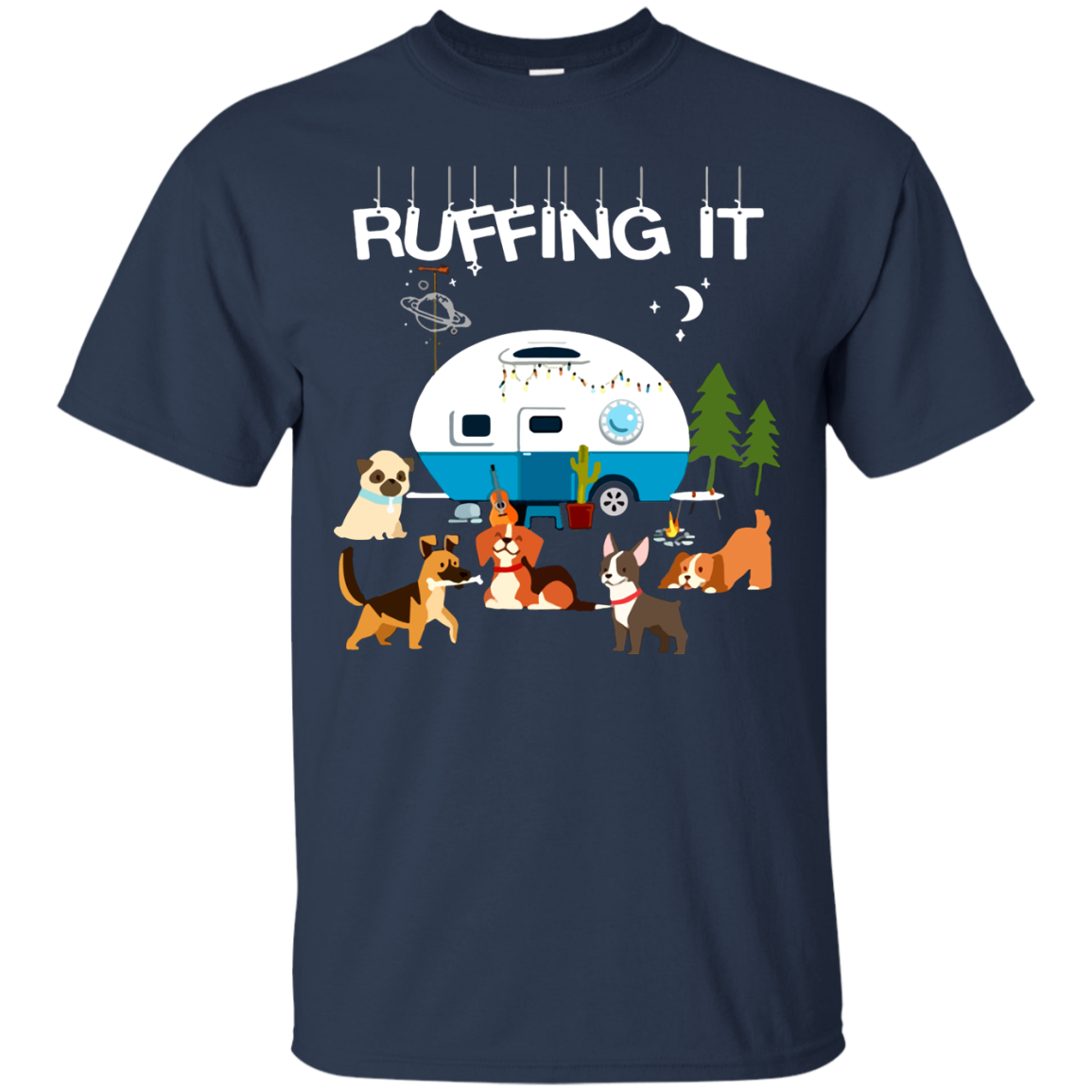 Camping T shirts Ruffing It Hoodies Sweatshirts TH