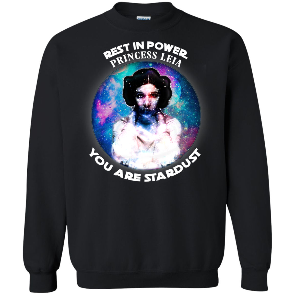 Carrie Fisher Leia Star Wars Cool T shrits Hoodies - Blue Fox
