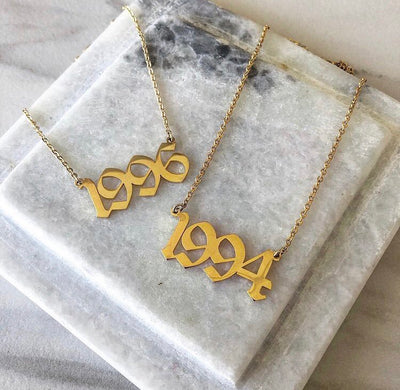 Birthdate Necklace