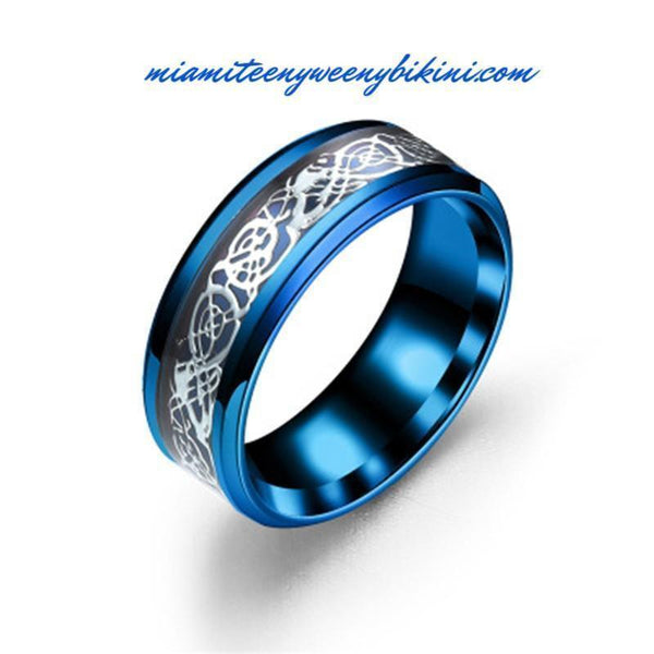Titanium Steel Dragon Ring - Miami Teeny Weeny Bikini
