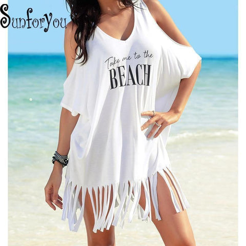 Kaftan Beach Bikini Cover Up - Miami Teeny Weeny Bikini