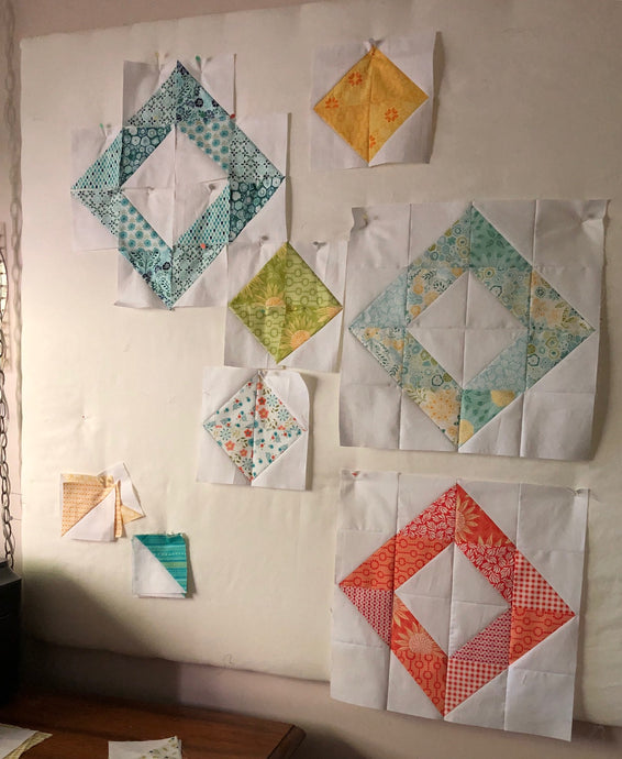 Coming Soon - Scrap Busting Modern Quilt Experiment
