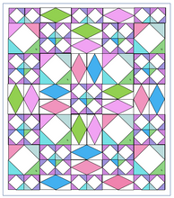 Load image into Gallery viewer, Sail Away. Lap Quilt or Child Quilt.  PDF Pattern