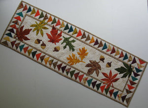 Autumn Flight Table Runner Pattern