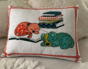 Bedtime Story Pillow Pattern PDF