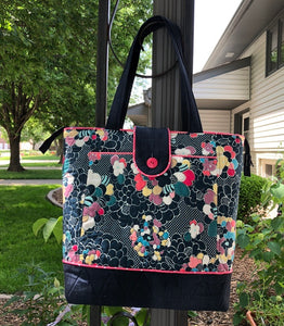 Everyday Zippered Tote Pattern