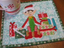 Load image into Gallery viewer, Elf Mug Rug Pattern