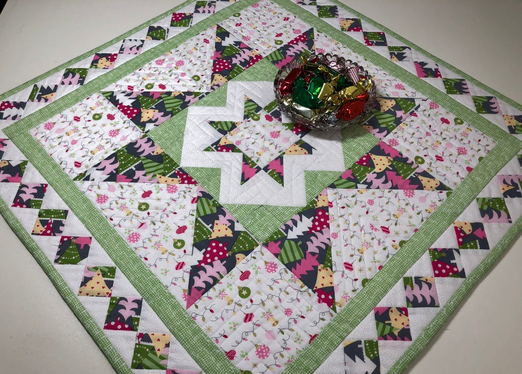 Double Star Table Topper Pattern
