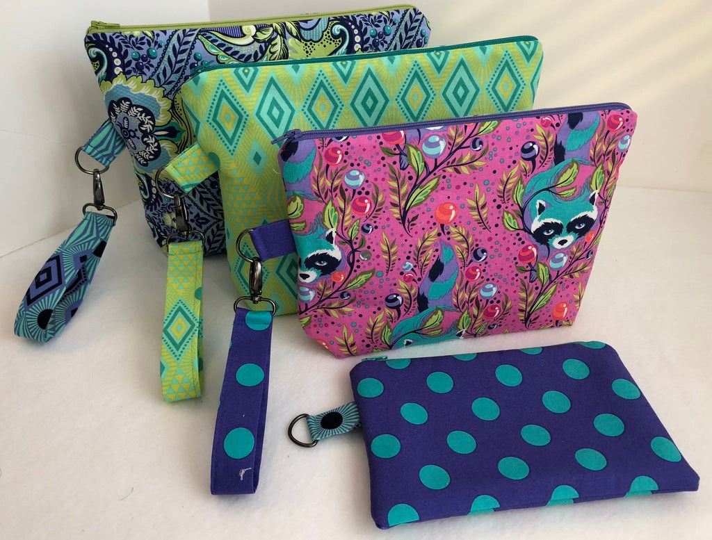 Small Zippered Project Bags Pattern