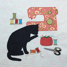 Load image into Gallery viewer, Kitty Craft Wall Hanging Pattern
