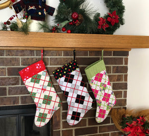 Argyle Christmas Stocking Pattern