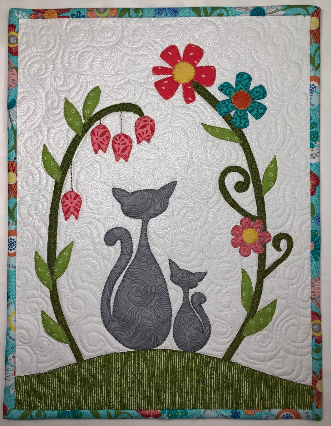 Summer Cats Mini Quilt Pattern