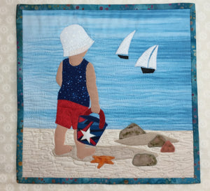 Beach Babies 2 Mini Quilt Pattern