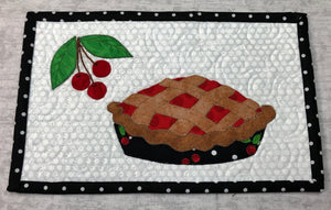 Cherry Pie, Christmas Pie Mug Rug Pattern