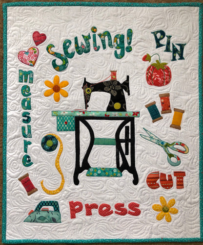 Sewing 101 Wall Hanging Pattern